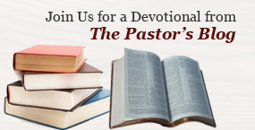 Read the Pastor's Blog